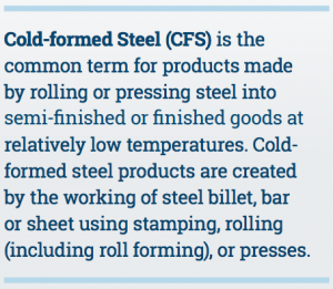 Cold-Formed Steel Definition Box