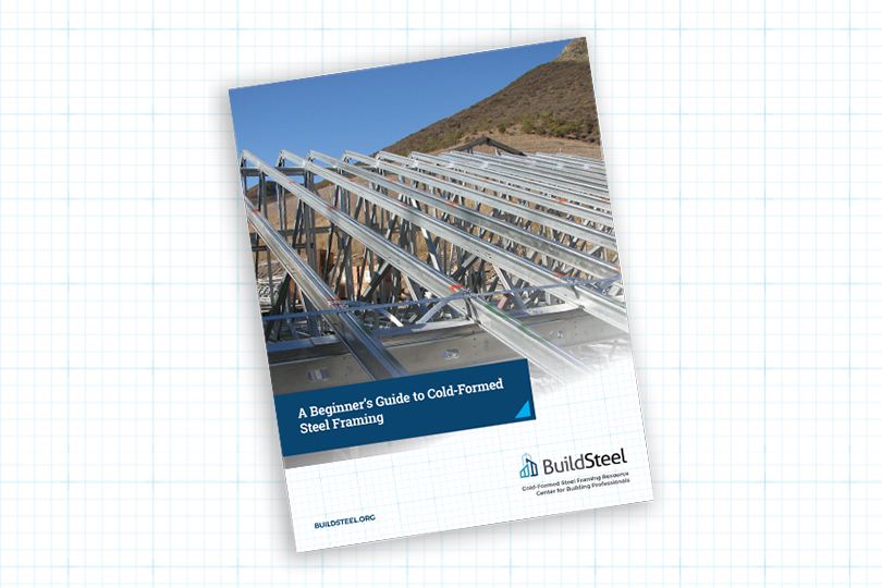 Ebook A Beginner S Guide To Cold Formed Steel Framing