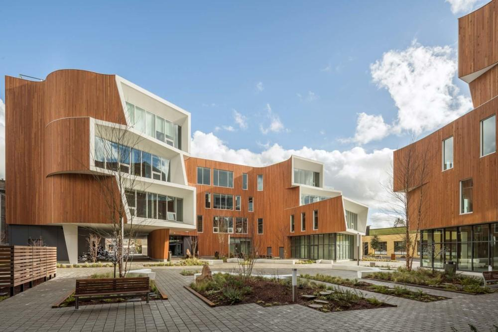 Project Team Turns Cold Formed Steel For Architectural Aesthetic Portland Buildsteel