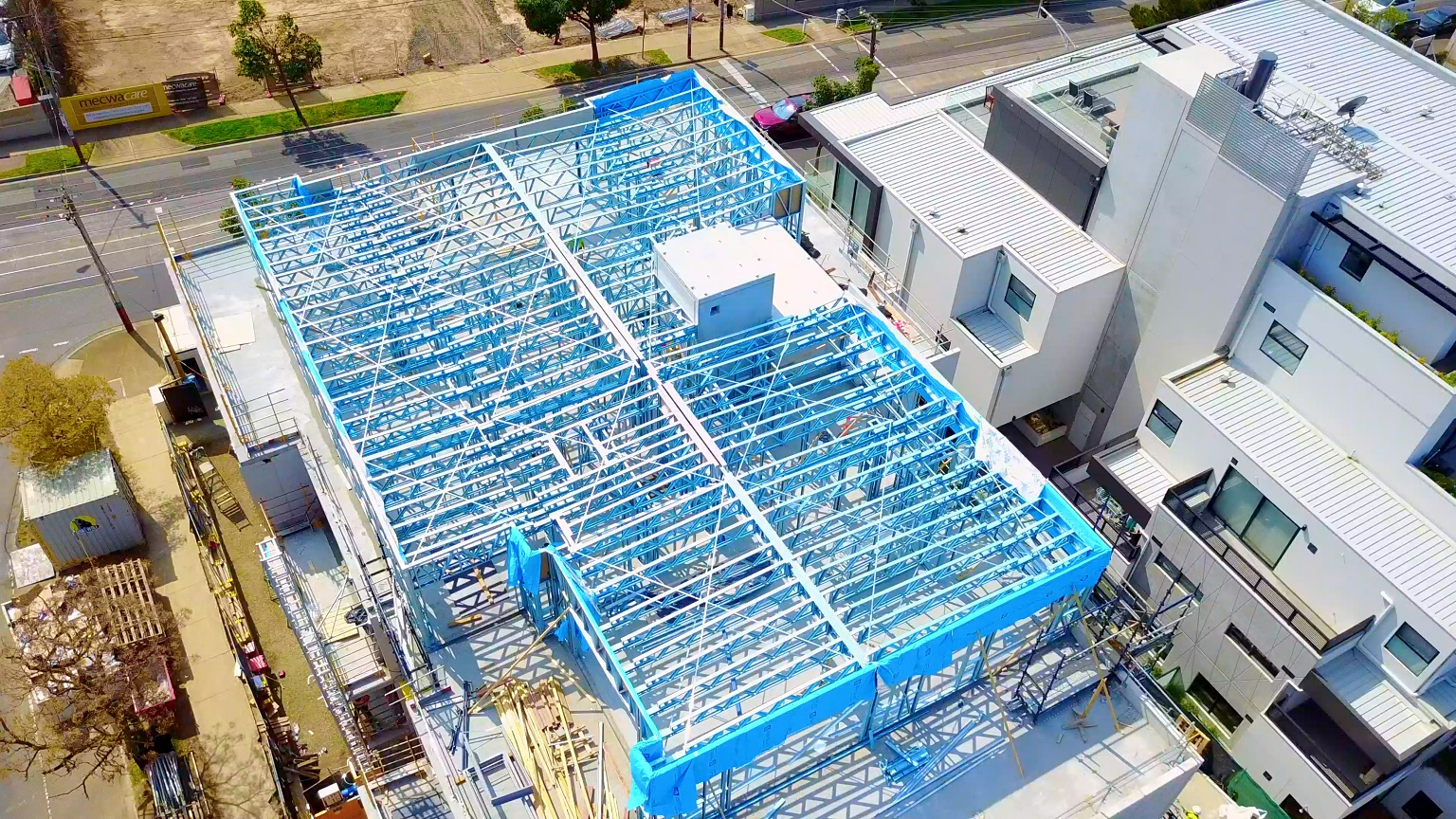 Cold-Formed Steel Framing Outperforming Wood for Top Level Construction