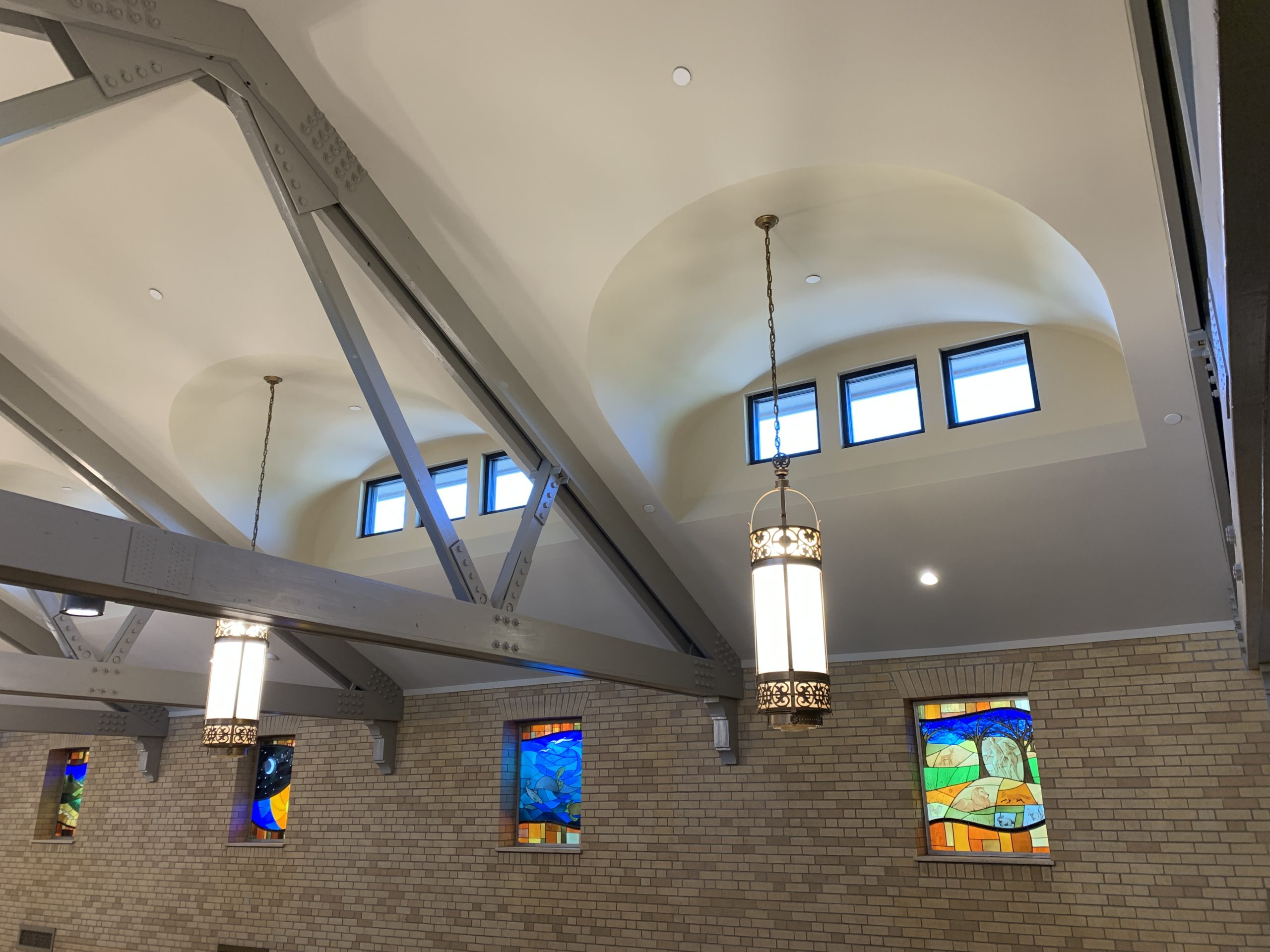 South Valley Drywall Our Lady of Lourdes Catholic Church clerestory windows