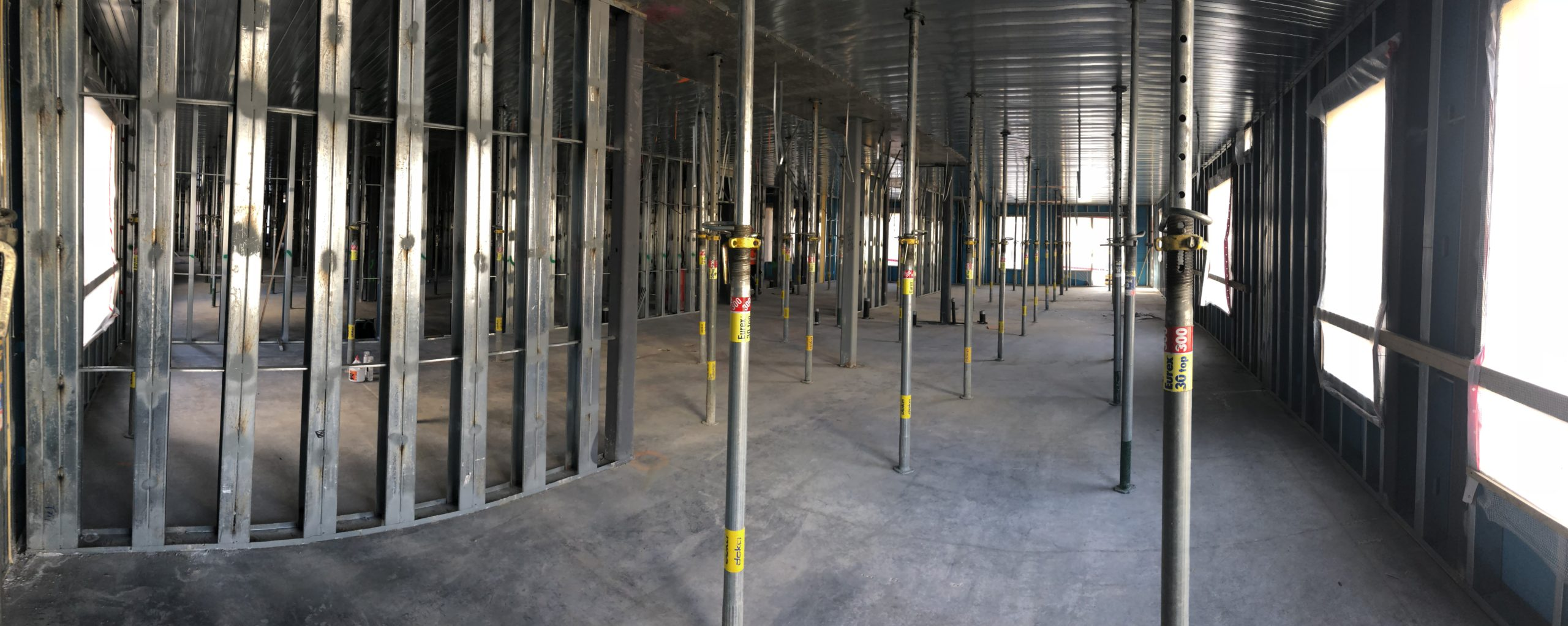 South Valley Prefab prefabricated CFS interior load-bearing wall panels