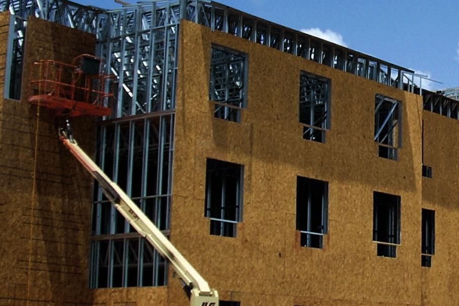 Holiday Inn Texas - Steel Framing