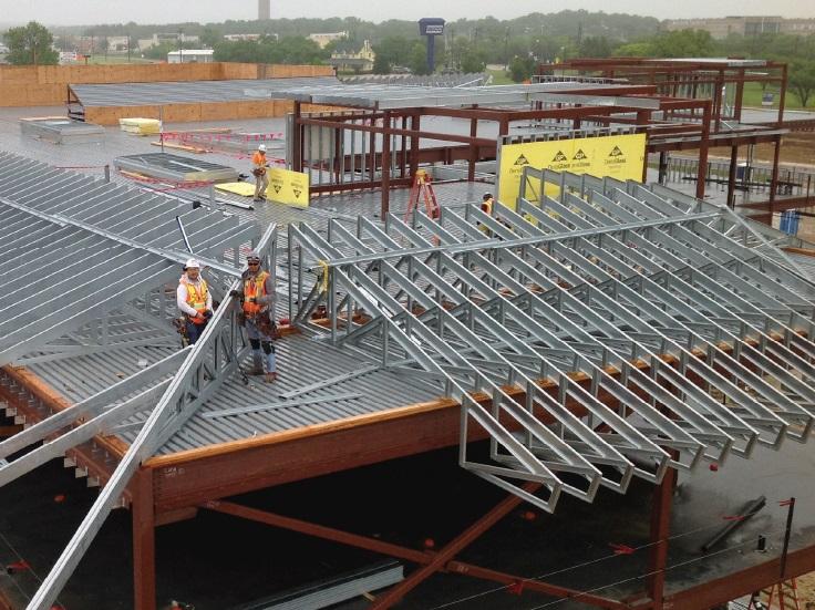 Steel Truss Denton Area Teachers Credit Union