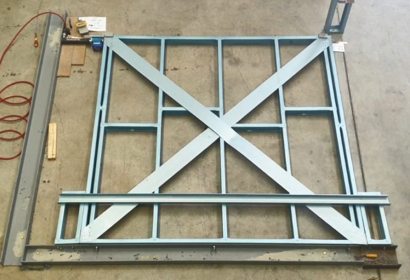 Cold Formed Steel Framing K Lateral Bracing
