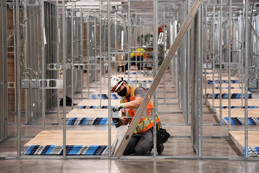 Steel Framing Hospital Partition