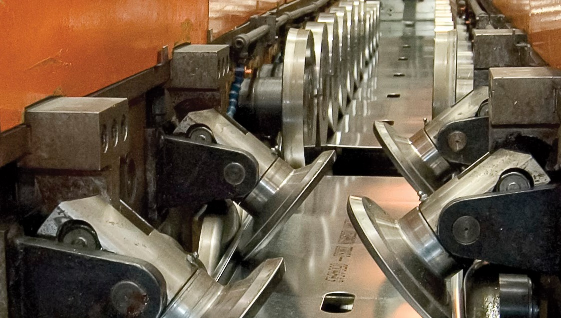 Rollforming cold formed steel
